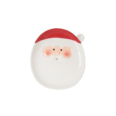 C&F Home Santa Clause Salad Plate