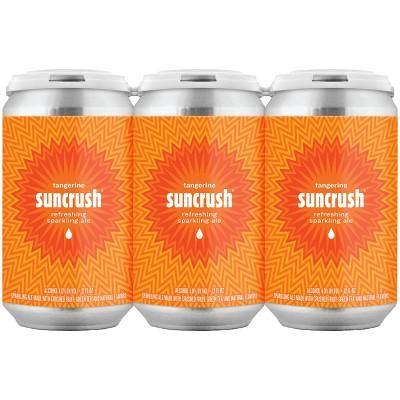 Suncrush Tangerine Sparkling Ale Beer - 6pk/12 fl oz Cans