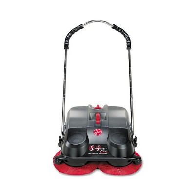 Hoover Commercial L1405 SpinSweep Pro Outdoor Sweeper - Black