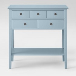 5 Drawer Console Table - Threshold™