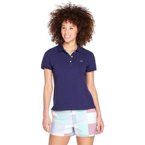 1e9498d3 Women's Short Sleeve Polo Shirt - Navy - Vineyard Vines® For Target : Target
