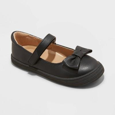 Toddler Girls' Ola Jelly Shoes - Cat & Jack™ Black