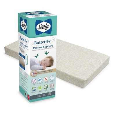 Sealy Butterfly Crib Mattress