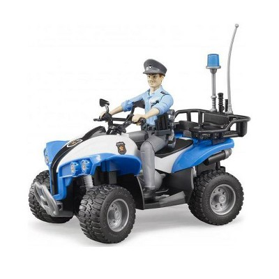 Bruder Police Quad with Policeman and Accessories
