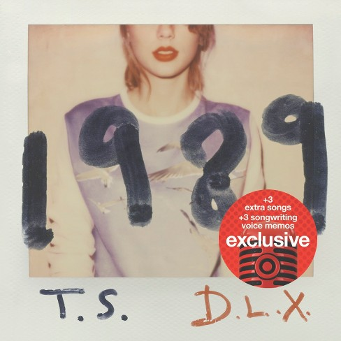 Taylor Swift - 1989 (Deluxe Edition) - Target Exclusive - image 1 of 1