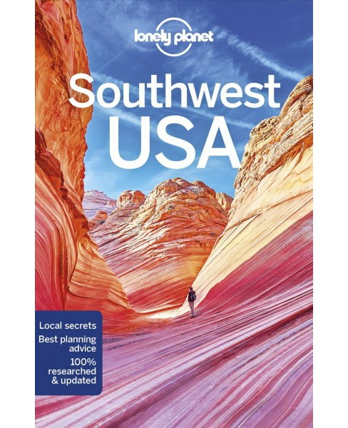 Lonely Planet Southwest USA -  (Paperback) - image 1 of 1
