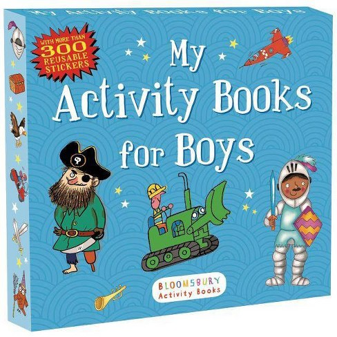 My Activity Books for Boys - (Sticker Activity Books) by  Anonymous & Bloomsbury (Paperback) - image 1 of 2