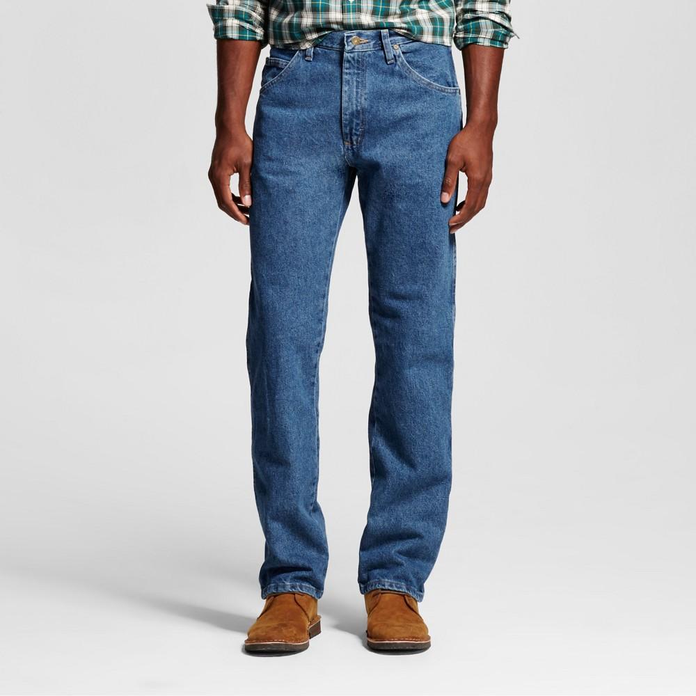 Wrangler Men's 5-Star Regular Fit Jeans - Stonewash 38x34