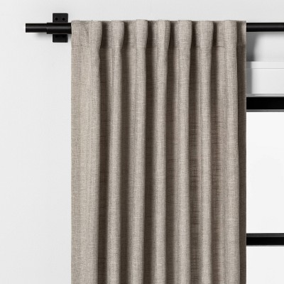 "84"" Curtain Panel Pebble - Hearth & Hand™ with Magnolia"