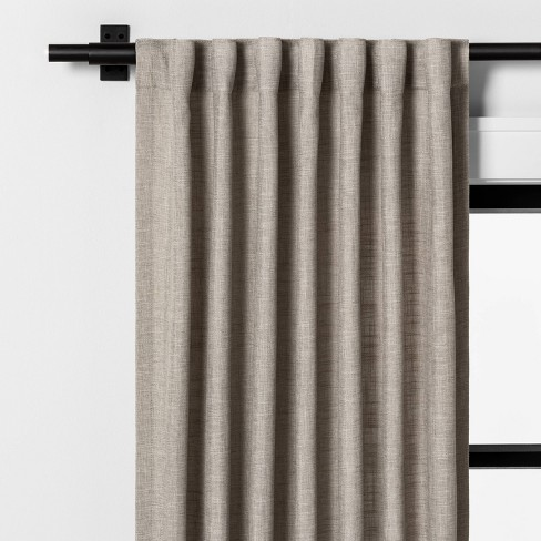"84"" Curtain Panel Pebble - Hearth & Hand™ with Magnolia - image 1 of 4"