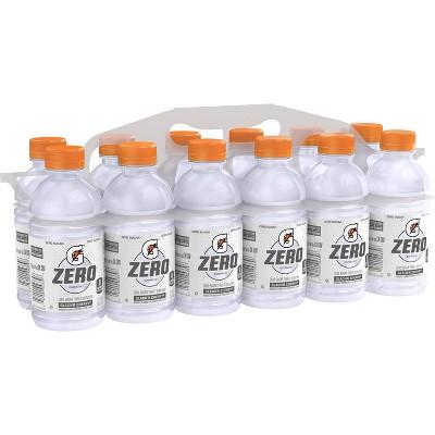 Gatorade G Zero Glacier Cherry Sports Drink - 12pk/12 fl oz Bottles