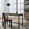 Springville Writing Desk with Drawers Black - Threshold™ designed with Studio McGee - image 2 of 4