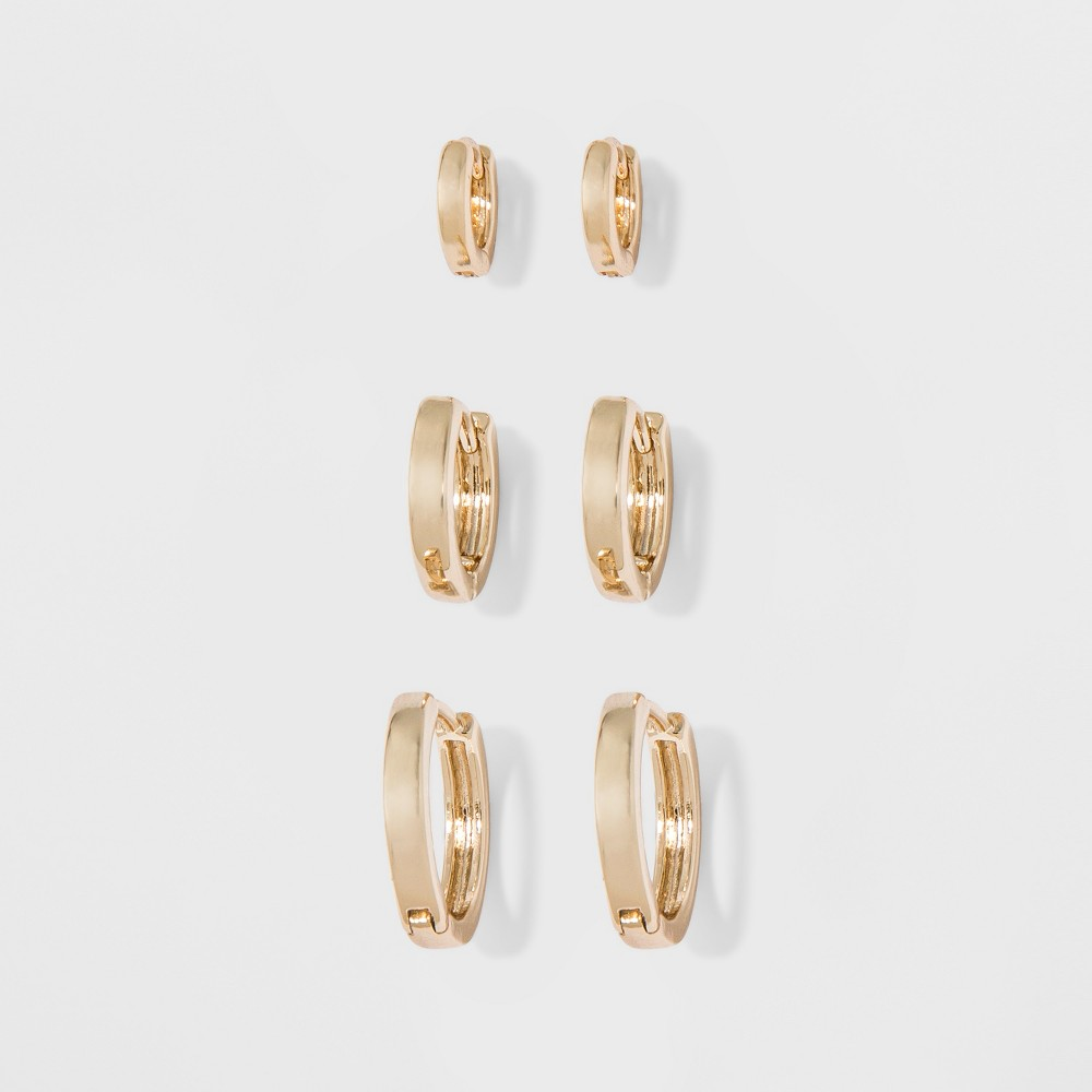 Small Hoop Earrings - A New Day Gold