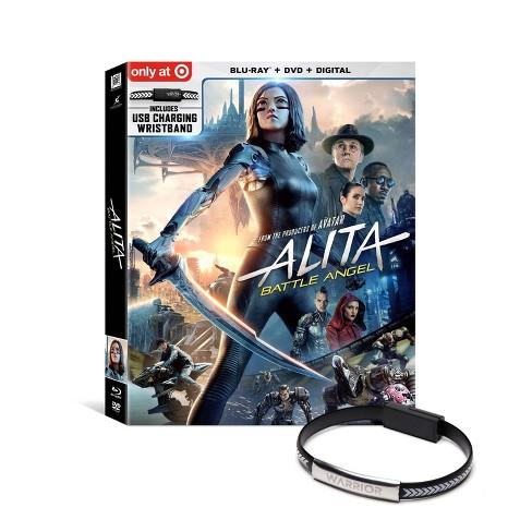 Alita: Battle Angel (Target Exclusive) (Blu-Ray + DVD + Digital) - image 1 of 2