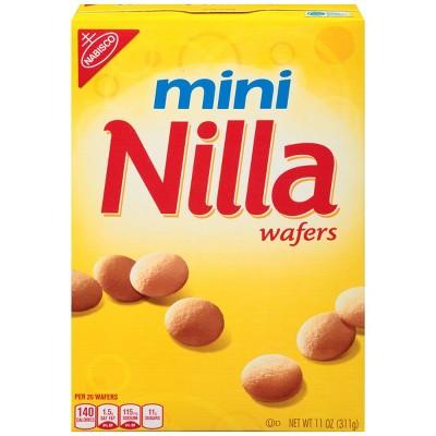 Nilla Mini Wafers Cookies - 11oz