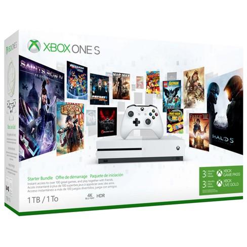 Xbox One 1TB One S Starter Bundle