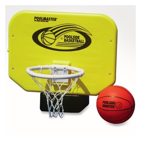 Poolmaster Junior Pro Poolside Basketball Game, Adult Unisex, Yellow image number null