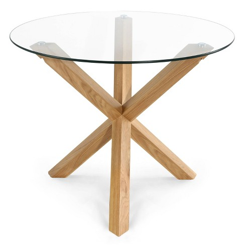 """37.4"""" Wilford Round Dining Table - Poly & Bark - image 1 of 4"""