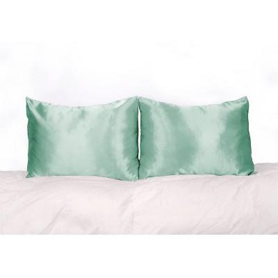Standard 2pk 600 Thread Count Satin Pillowcase Set - Morning Glamour