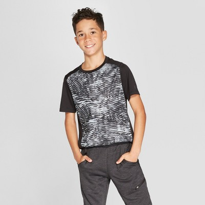 724e15d0dd0c Boys  Printed Tech T-Shirt - C9 Champion®