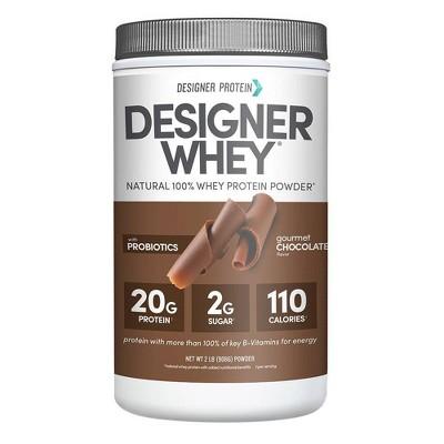 Designer Whey Protein Powder - Gourmet Chocolate - 32oz