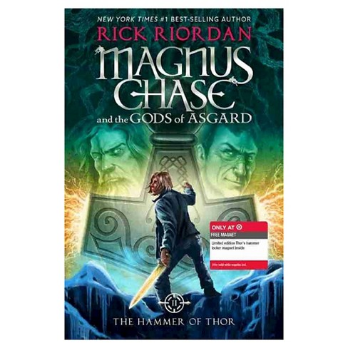 The Hammer of Thor (Magnus Chase and the Gods of Asgard Series #2) (Hardcover) by Rick Riordan - image 1 of 1