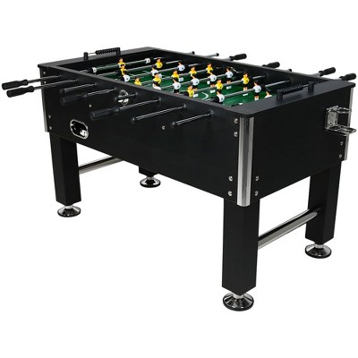 "Sunnydaze Decor 55"" Foosball Game Table with Drink Holders"