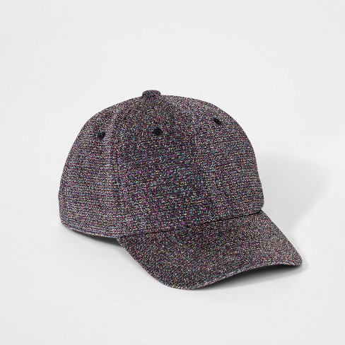8b2c7f70946 Girls  Glitter Baseball Cap - Cat   Jack™ One Size   Target