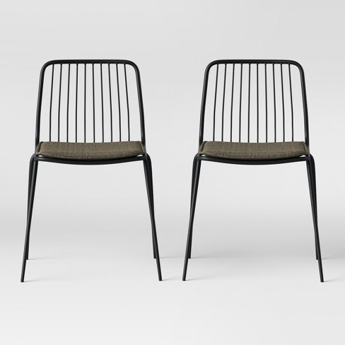 Set of 2 Sodra Square Seat Wire Dining Chair - Project 62™ - image 1 of 4