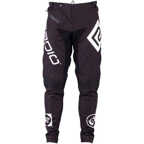 Radio Pilot BMX Race Pants - Size 32, Black Protective Breathable Softshell - image 1 of 4