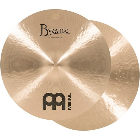 Meinl Byzance Traditional Medium Hi-Hat Cymbal Pair 16 in. - image 1 of 4