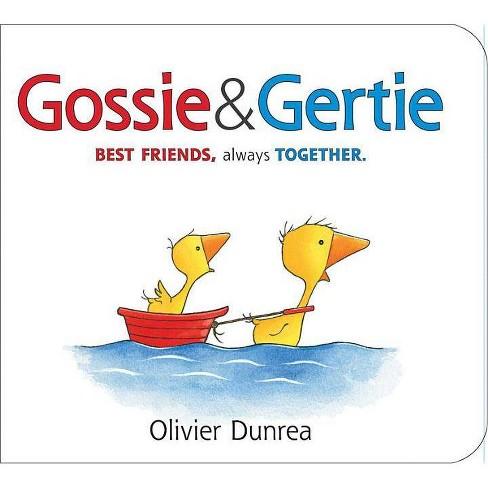 Gossie & Gertie Padded Board Book - (Gossie & Friends) by  Olivier Dunrea (Board_book) - image 1 of 1