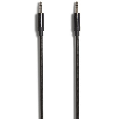NXT Technologies 6 Ft. Mini-phone Stereo 3.5mm Cable Bk NX54356