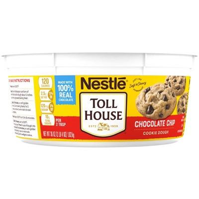 Nestle Tollhouse Scoop & Bake Chocolate Chip Cookie Dough Tub - 36oz