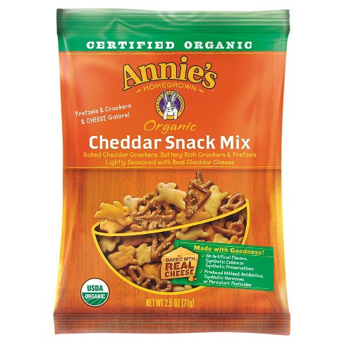 Annie's Organic Cheddar Snack Mix - 2.5 oz - image 1 of 1