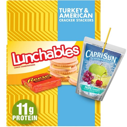 Oscar Mayer Lunchables Turkey & American Cheese with Cracker Meal Combinations - 8.9oz - image 1 of 4