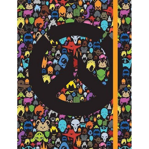 Overwatch: All Over Character Icon Notebook - by  Blizzard Entertainment (Hardcover) - image 1 of 1