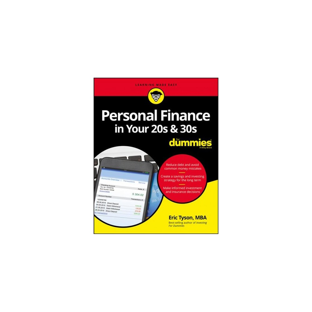 Personal Finance in Your 20s & 30s for Dummies - by Eric Tyson (Paperback)