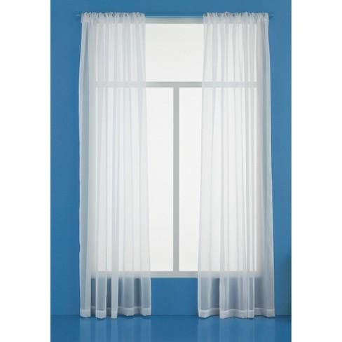Sheer Window Curtain Panel - Room Essentials™ - image 1 of 1