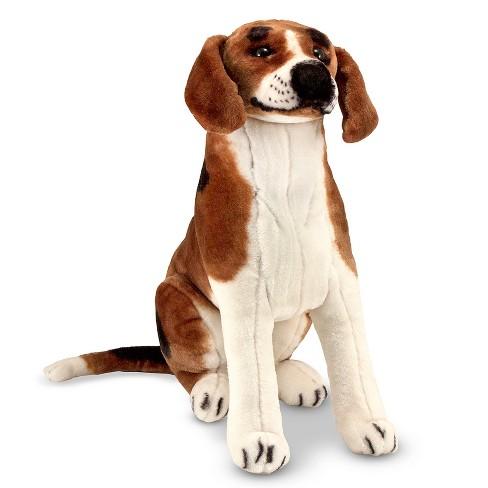 melissa doug giant beagle lifelike stuffed animal dog target. Black Bedroom Furniture Sets. Home Design Ideas