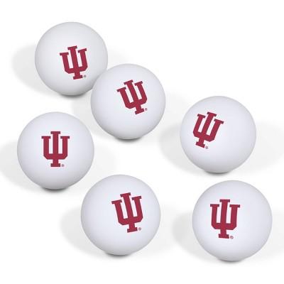 NCAA Indiana Hoosiers Table Tennis Balls 6pk