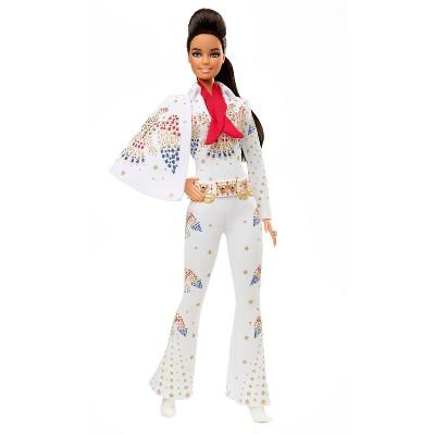 "Barbie Signature Elvis Presley Barbie Collector Doll - ""American Eagle"" Jumpsuit"