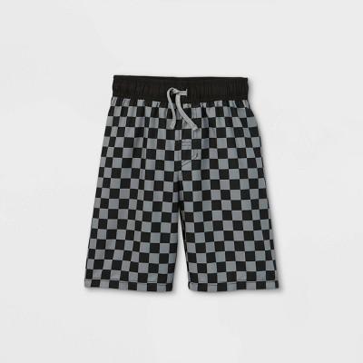 Boys' Checkered Swim Trunks - Cat & Jack™