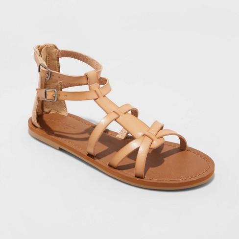 Women's Alva Faux Leather Gladiator Sandals - Universal Thread™ - image 1 of 4