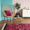 Rhea Small Rattan Ottoman - Assembly Required - Opalhouse™ - image 2 of 4