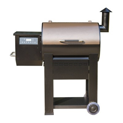 Pellet Grill with Wi-Fi Control Black Model 87578 - Monument Grills