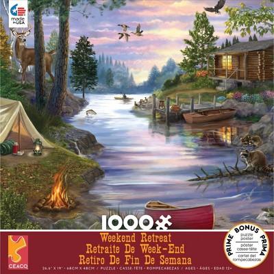 Ceaco Cabin Lake Puzzle 1000pc