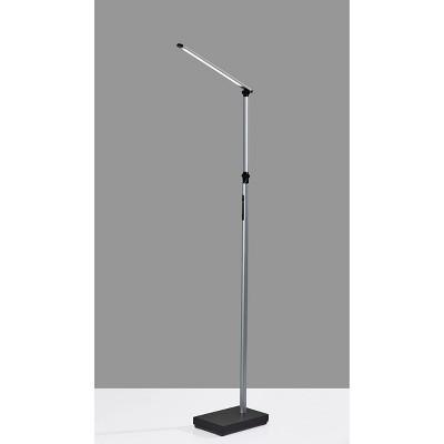 Lennox Floor Lamp (Includes LED Light Bulb) Black - Adesso