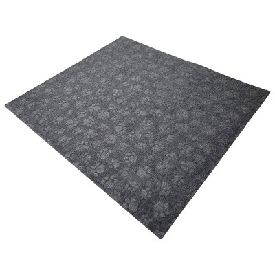 Drymate Debossed Cat Litter Trapping Mat - Charcoal