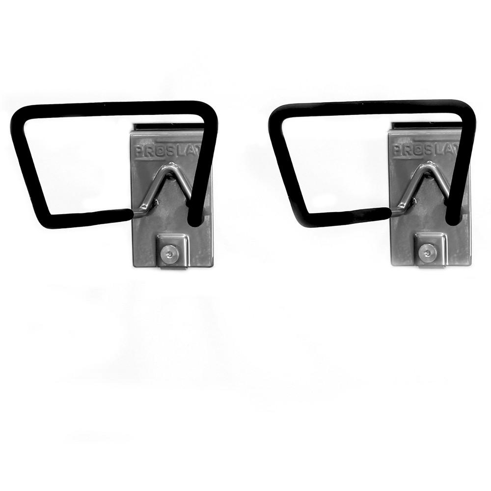 Proslat 2 Pack Hose-Cord Holder, Silver
